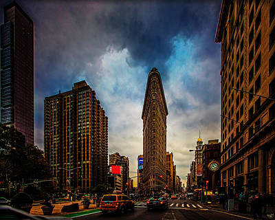 Photograph - The Flatiron District by Chris Lord