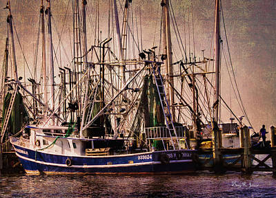 Photograph - The Fleets In by Barry Jones