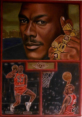 The Flight Instructor Feat Michael Jordan Art Print