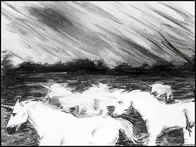 The Flight Of The Unicorn Art Print
