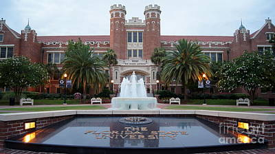 The Florida State University Art Print by Paul  Wilford