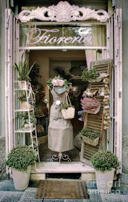 1920s Flapper Girl - The Florist Shop by Karen Lewis