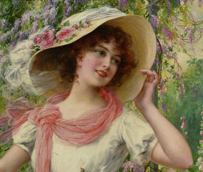 Digital Art - The Flower Garden Detail by Emile Vernon