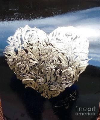 The Flower Heart Art Print