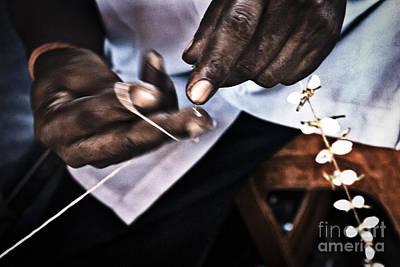 Photograph - The Flower Maker by Soren Egeberg