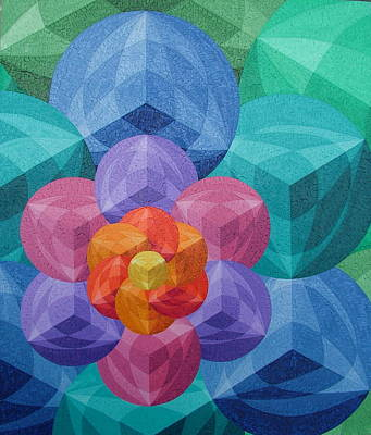 The Flower Of Life Original by Peter Antos