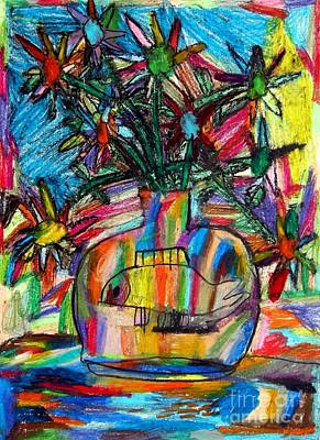 2010 The Flowers And The Vase 01 Original