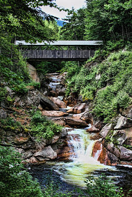 Photograph - The Flume by Heather Applegate