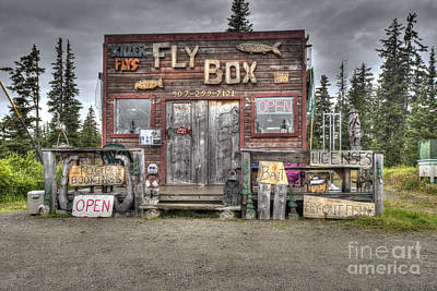 Photograph - The Fly Box Store by Dan Friend