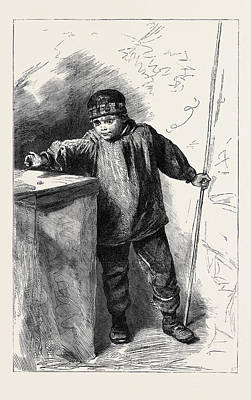 Water Colour Drawing - The Flyfisher, In The Winter Exhibition Of The Water Colour by Hunt, Alfred William (1830-96), English
