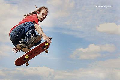 Photograph - The Flyin' Rastaman by Stwayne Keubrick