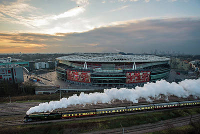 Flying Photograph - The Flying Scotsman Travels The East by Justin Setterfield