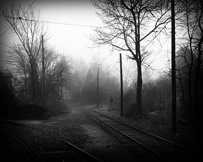 Photograph - The Fog 2 by Jim Poulos