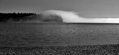 Photograph - The Fog by Benjamin Yeager