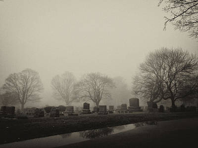 Photograph - The Fog by Jim Poulos