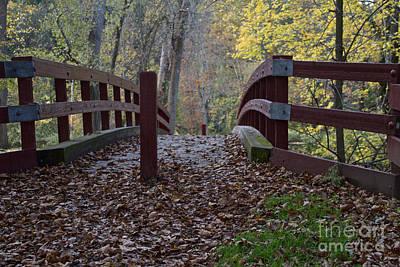 Photograph - The Foot Bridge by William Norton