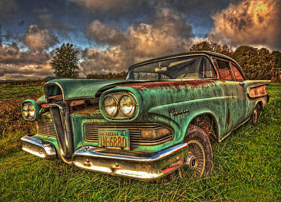 Gallery Website Photograph - The Ford Edsel Ranger by Thom Zehrfeld