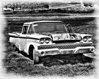 Art Print featuring the photograph The Ford Ranchero by William Havle