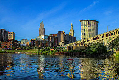 Downtown Cleveland Photograph - The Forest City by J Allen