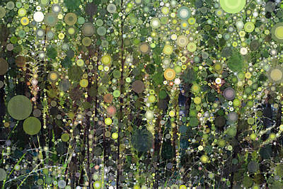 The Forest Art Print by Linda Bailey