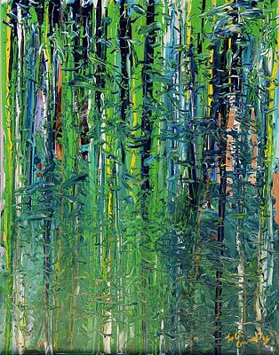 Painting - The Forest  by Lola Connelly