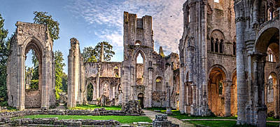 Medieval Temple Photograph - The Forgotten Abbey 5 by Weston Westmoreland
