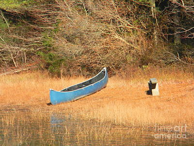 Photograph - The Forgotten Canoe by Spirit Baker