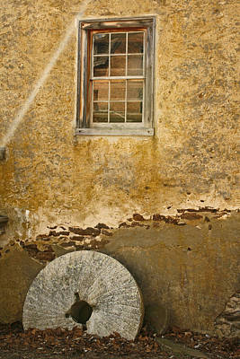 Photograph - The Forgotten Millstone by Kristia Adams
