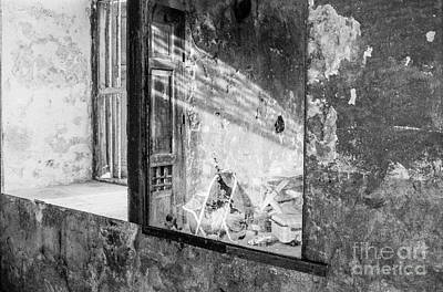 Folding Chair Photograph - The Forgotten Room by Dean Harte