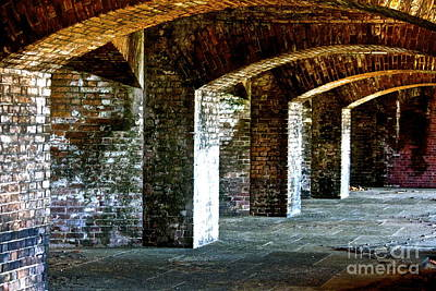 The Fort At The Dry Tortugas National Park Art Print by Deborah Talbot - Kostisin