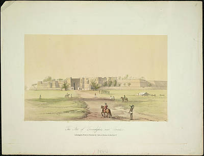 The Fort Of Govindghur Art Print by British Library