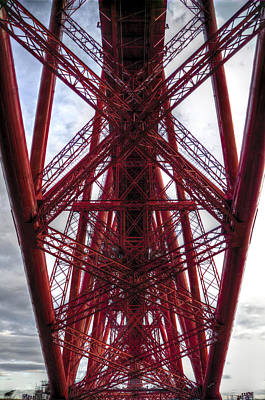 Photograph - The Forth Bridge Up Close And Personal by Ross G Strachan