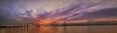 Photograph - The Forth Rail Bridge by Jean-Noel Nicolas