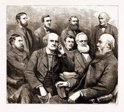 Dr. J Drawing - The Forthcoming Meeting Of The British Association, 1883 by Litz Collection