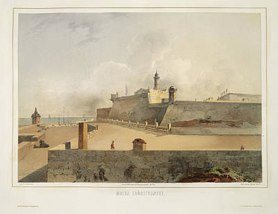 Aristocrat Photograph - The Forts Of Malta by British Library