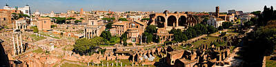 Photograph - The Forum From The Palatine by Weston Westmoreland