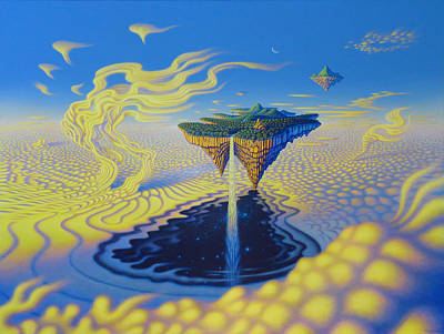 Painting - The Fountain Of Living Waters And The Depths Of Love by Tuco Amalfi