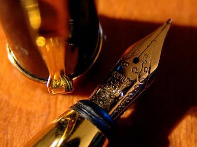 Photograph - The Fountain Pen by Alessandro Della Pietra