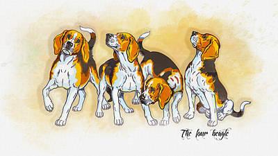 The Four Beagles Original