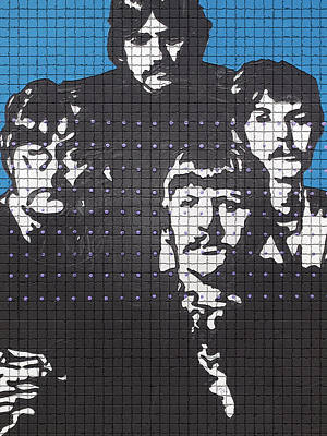 Photograph - The Four Beatles by Robert Margetts
