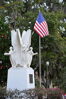Photograph - The Four Freedoms Monument - Madison Florida by rd Erickson