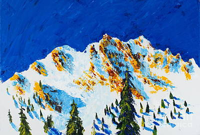 Painting - The Four Sisters by Walt Brodis