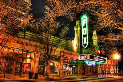 Photograph - The Fox Theater 3 by Reid Callaway