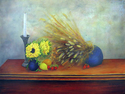 Painting - The Foyer Table by Loretta Luglio
