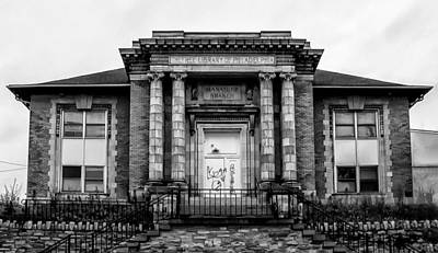 Library Digital Art - The Free Library Of Philadelphia - Manayunk Branch by Bill Cannon