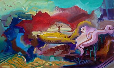 Free Painting - The Free Soul by Meruzhan Khachatryan