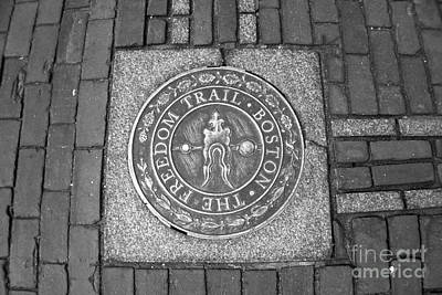 Photograph - The Freedom Trail Boston by Amazing Jules