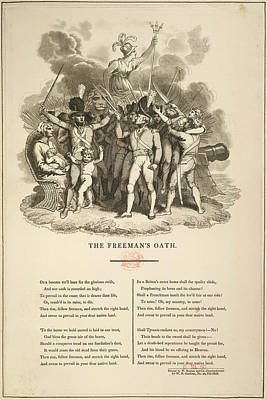 The Freeman's Oath Art Print by British Library