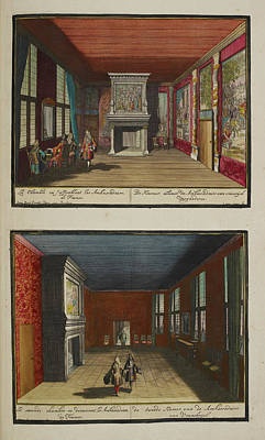 The French Ambassadors' Rooms Art Print by British Library