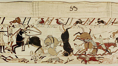 The Bayeux Tapestry Print by French School